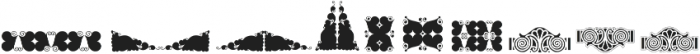 Naive Ornaments Four ttf (400) Font OTHER CHARS