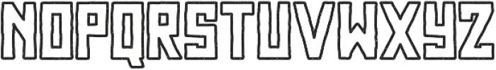 Najova Outline otf (400) Font LOWERCASE