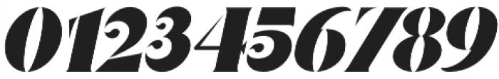 Nakone Stencil otf (400) Font OTHER CHARS