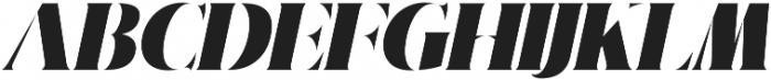 Nakone Stencil otf (400) Font UPPERCASE