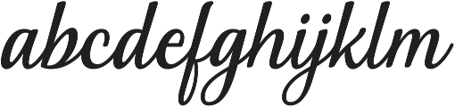 Nakser otf (400) Font LOWERCASE