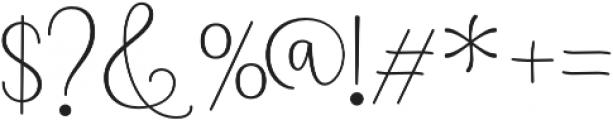 Namaste Script Pro Light otf (300) Font OTHER CHARS