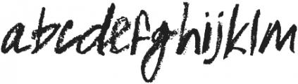 Nameless otf (400) Font LOWERCASE