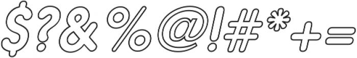 Nanami Book Oblique ttf (400) Font OTHER CHARS