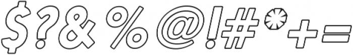 Nanami HM Black otf (900) Font OTHER CHARS