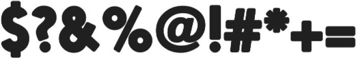 Nanami HM Outline Bold otf (700) Font OTHER CHARS