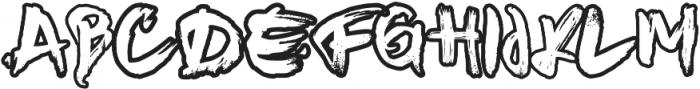 Nanost otf (400) Font UPPERCASE