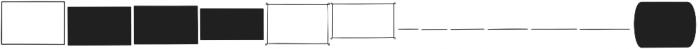 Nanu Simple Ornaments Regular otf (400) Font LOWERCASE