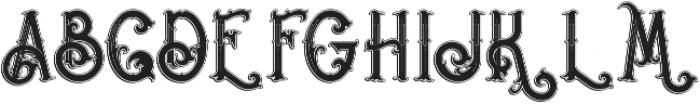Napoleon Inline Shadow otf (400) Font UPPERCASE