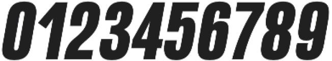 Naratif Condensed Black Italic otf (900) Font OTHER CHARS