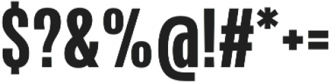Naratif Condensed ExtraBold otf (700) Font OTHER CHARS
