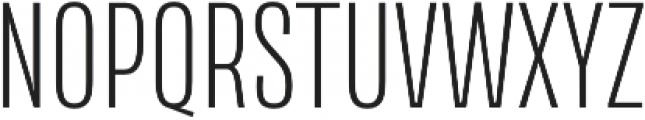 Naratif Condensed ExtraLight otf (200) Font UPPERCASE