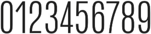 Naratif Condensed Light otf (300) Font OTHER CHARS
