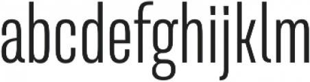 Naratif Condensed Light otf (300) Font LOWERCASE
