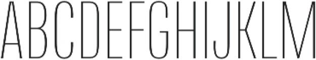 Naratif Condensed Thin otf (100) Font UPPERCASE