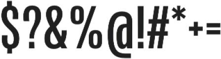 Naratif Condensed otf (700) Font OTHER CHARS