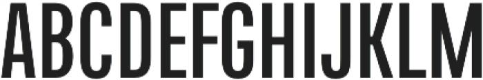 Naratif Condensed otf (700) Font UPPERCASE