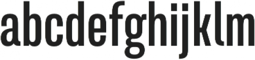 Naratif Condensed otf (700) Font LOWERCASE