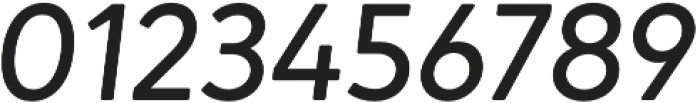 Narin Medium Italic otf (500) Font OTHER CHARS