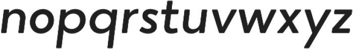 Narin Medium Italic otf (500) Font LOWERCASE