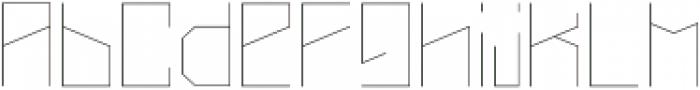 Narrow Light otf (300) Font LOWERCASE