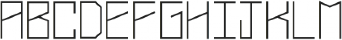 Narrow Regular Caps otf (400) Font LOWERCASE