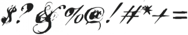 Nars 2 ttf (400) Font OTHER CHARS