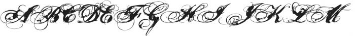 Nars 2 ttf (400) Font UPPERCASE