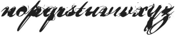 Nars 2 ttf (400) Font LOWERCASE