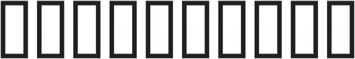 Nars X ttf (400) Font OTHER CHARS