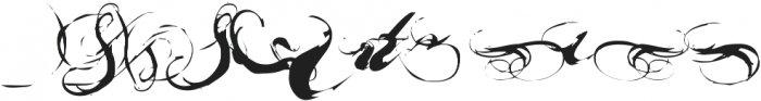 Nars X ttf (400) Font LOWERCASE