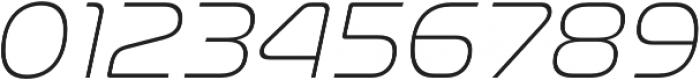 Nasalization ExtraLight Italic otf (200) Font OTHER CHARS