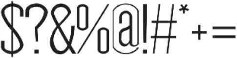Nasya Light otf (300) Font OTHER CHARS