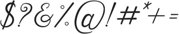Natalie otf (400) Font OTHER CHARS