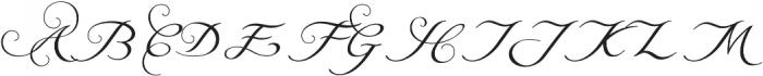Natalya Alternate Two otf (400) Font UPPERCASE