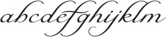 Natalya Alternate Two otf (400) Font LOWERCASE
