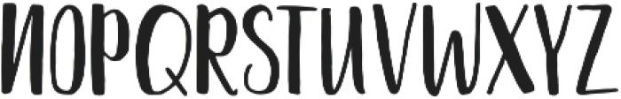 Nathain Font Duo Regular otf (400) Font UPPERCASE