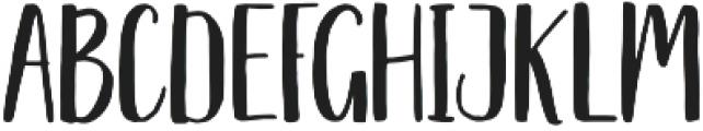 Nathain Font Duo Regular otf (400) Font LOWERCASE