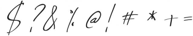 Nathallie otf (400) Font OTHER CHARS
