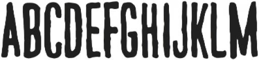 National Brush otf (400) Font UPPERCASE