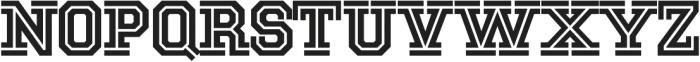 National Champion Cut Bold otf (700) Font UPPERCASE