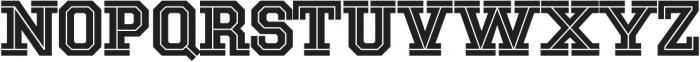 National Champion Cut Light otf (300) Font UPPERCASE