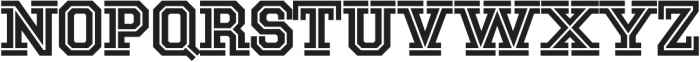 National Champion Cut Medium otf (500) Font UPPERCASE