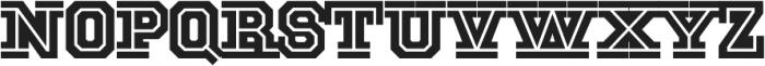 National Champion Cut Medium otf (500) Font LOWERCASE