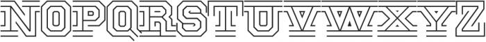 National Champion Tri Light otf (300) Font LOWERCASE
