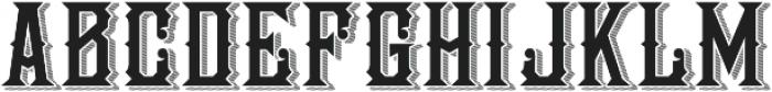 National Currency Regular otf (400) Font UPPERCASE
