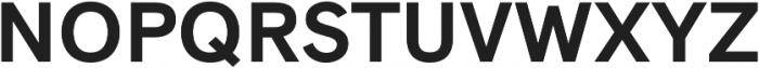 Natrix Sans otf (700) Font UPPERCASE