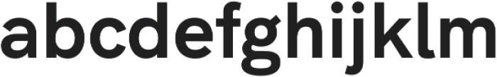 Natrix Sans otf (700) Font LOWERCASE