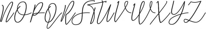 Natron otf (400) Font UPPERCASE