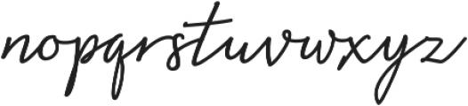 Natron otf (400) Font LOWERCASE